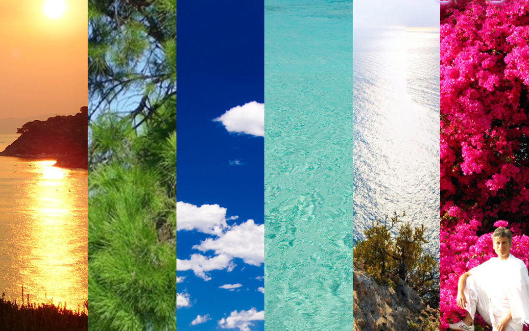 Color therapy in Greece!